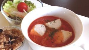チーズ入りトマト雑煮2